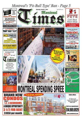e7b43a5501ae Montreal Times 22 8 Oct 1 2016 by Montreal Times - issuu