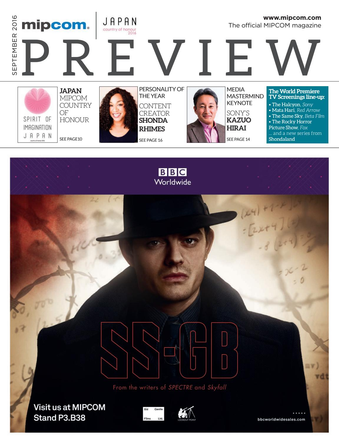 Mipcom 2016 preview magazine by mipmarkets issuu fandeluxe Images