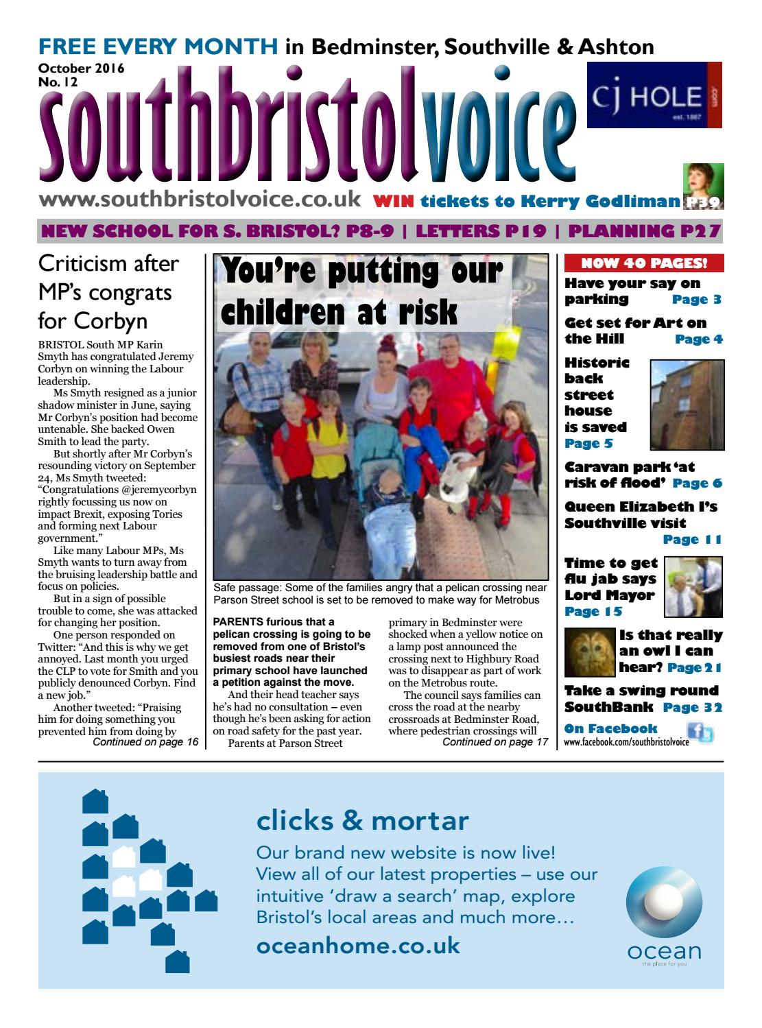 South Bristol Voice Bedminster October 2016 By South Bristol