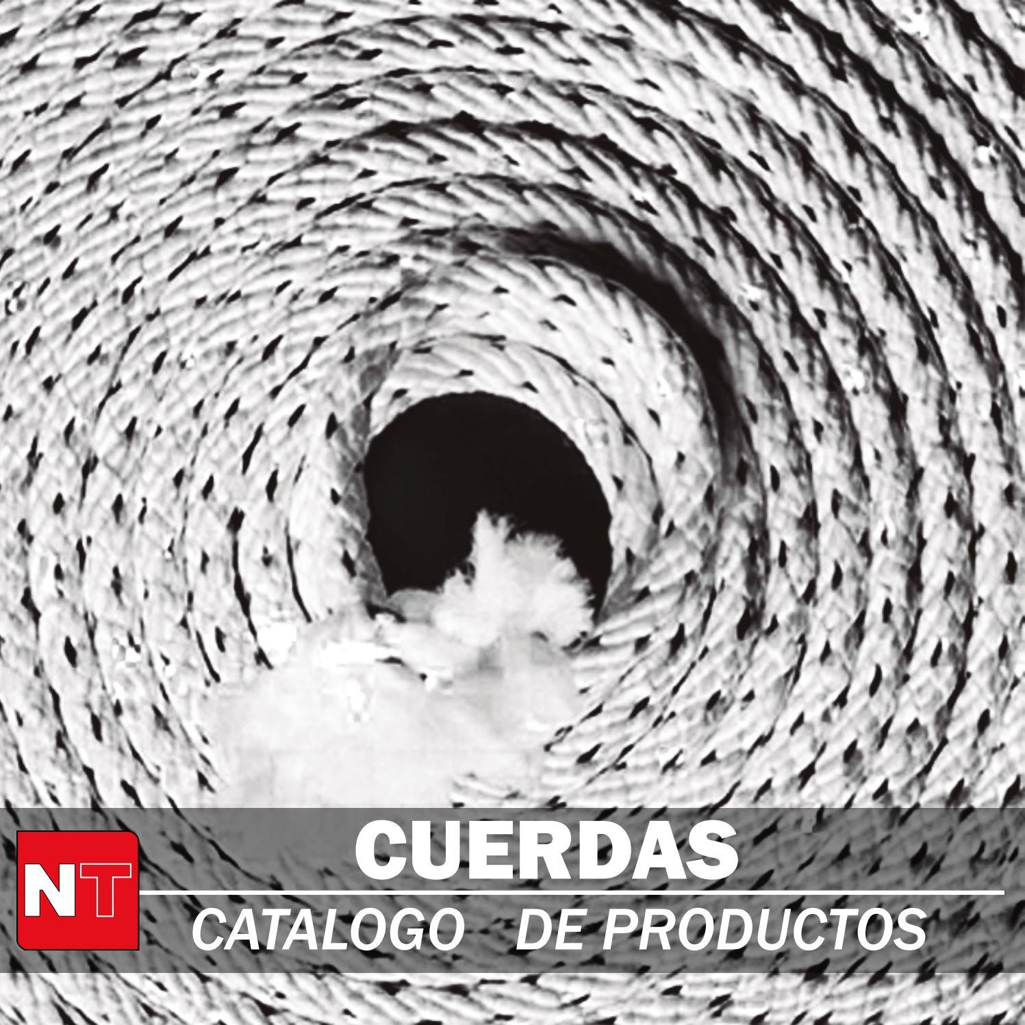 multiusos cuerda Cuerda rollo de cuerda 10m x 6mm nautica trenzada. cuerda de polyestere azul//blanco cuerda de amarre