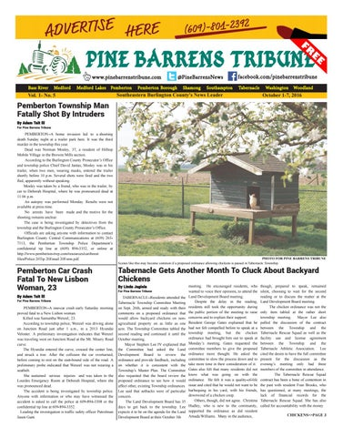 October 1 2016 by pine barrens tribune issuu page 1 sciox Choice Image