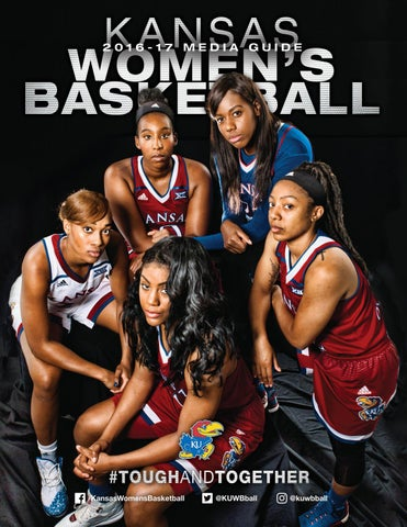 cadc857994e 2016-17 Kansas Women s Basketball Media Guide by Kansas Athletics ...