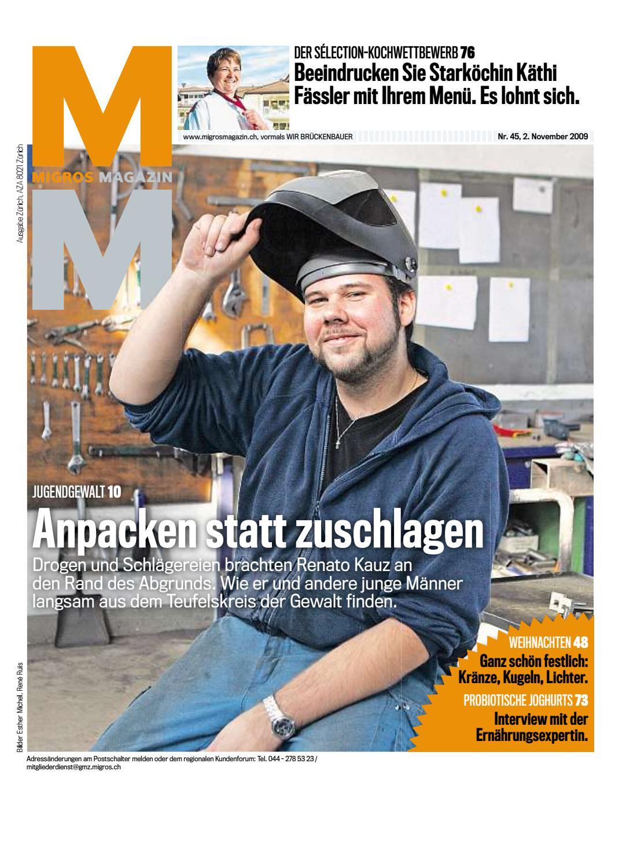 Migros Magazin 45 2009 d BL by Migros-Genossenschafts-Bund - issuu