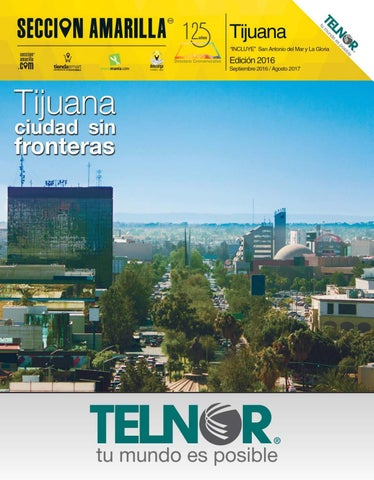 36a4c5c4187e2 Tijuana by Sección Amarilla - issuu