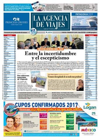 5faa5a565c567 La Agencia de Viajes Argentina N° 1.435 by Ladevi Media   Solutions ...