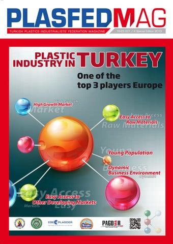 PLASFEDMAG Turkish Plastics Industrialists' Federation