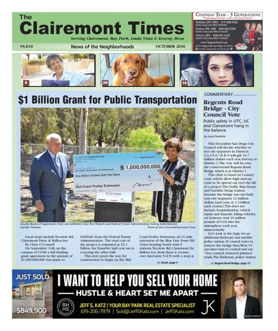 Clairemont Times October 2016