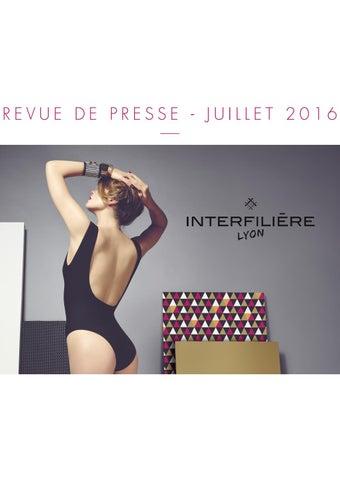 Revue de presse - Interfilière Paris Juillet 2016 by Claire CORREIA ... 31219ff050f