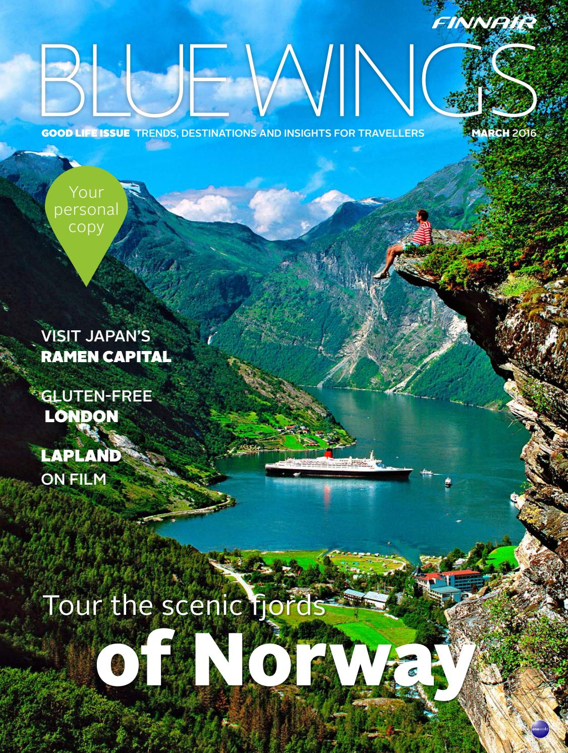 Blue Wings Good Life Issue March 2016 By Finnair Bluewings Issuu