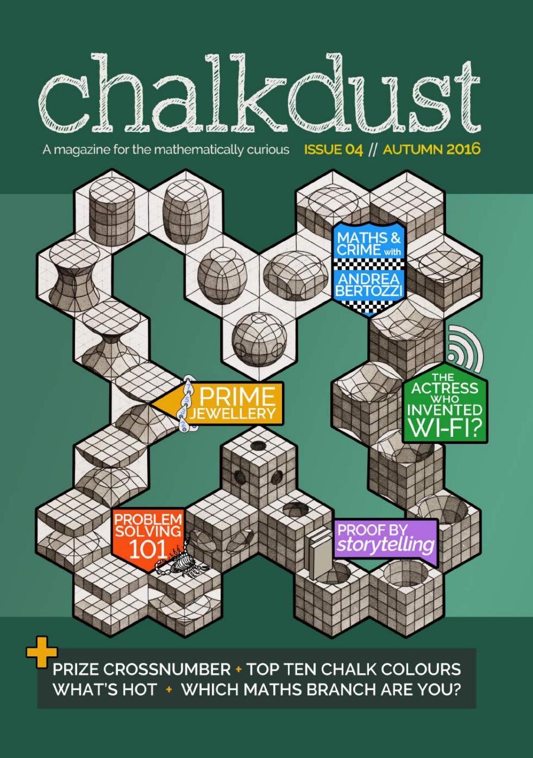 Chalkdust, Issue 04 by Chalkdust - issuu