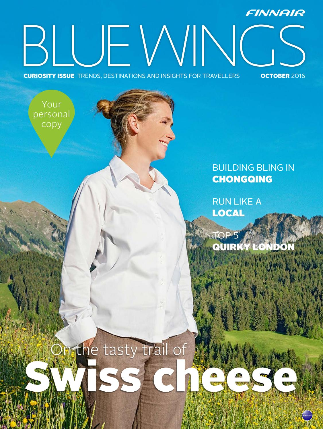 bdb8c7f2cc2 Blue Wings Curiosity issue October 2016 by Finnair BlueWings - issuu