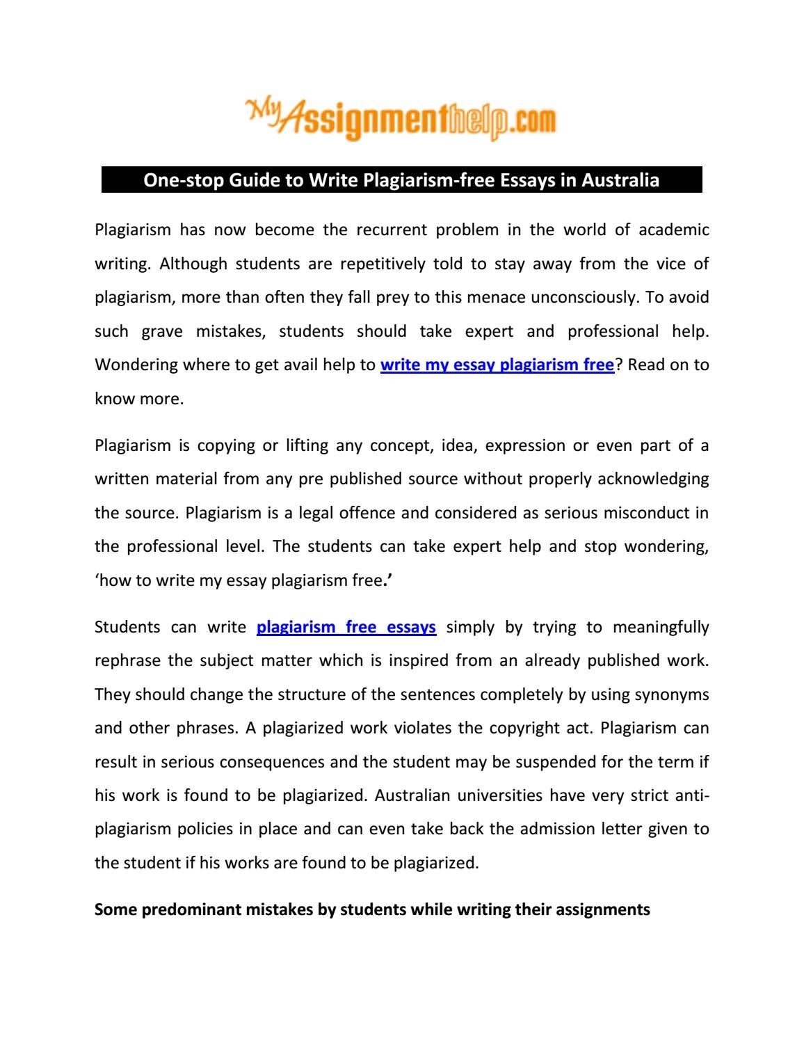 Mistakes While Plagiarizing Admission Essays