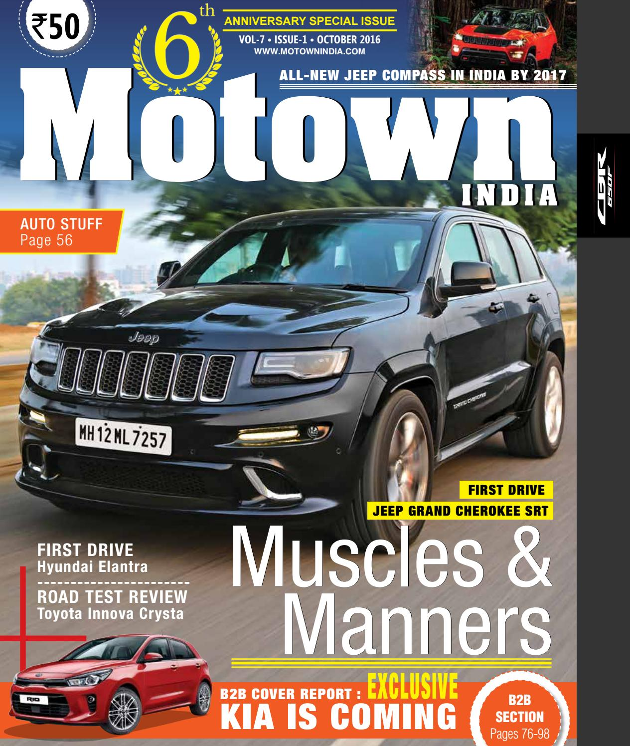 Motown India October 2016 by Motown India - issuu