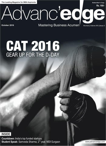 A mba october2016 by IMS Publications - issuu