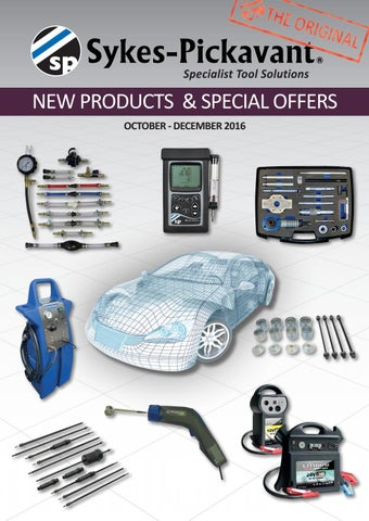 Sykes-Pickavant October - December 2016 New Products