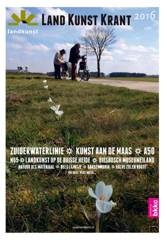 Land Kunst Krant 2016 By Bkkc Issuu