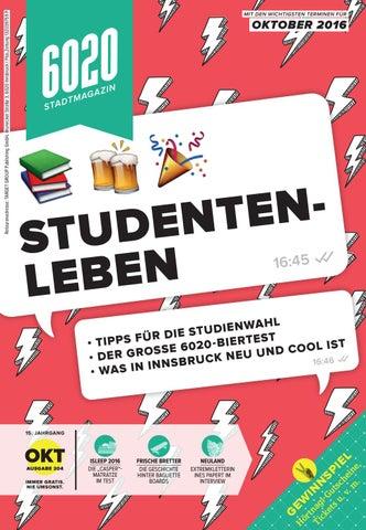 6020 Stadtmagazin (Oktober 2016) by TARGET GROUP Publishing GmbH - issuu