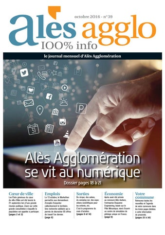 Alès Agglo n°39 - Octobre 2016 by Alès Agglomération - issuu 8d00784ff06c