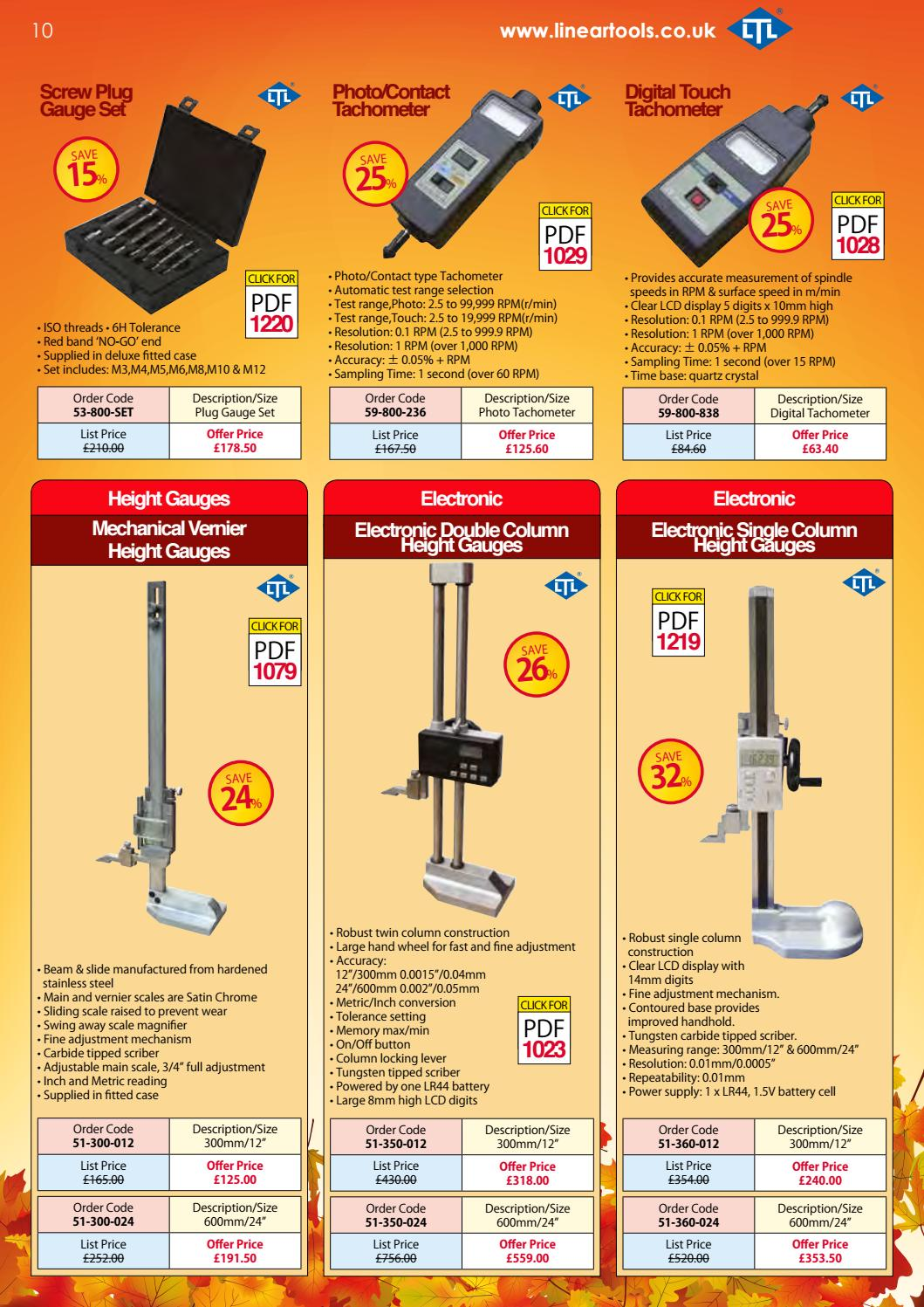October - December 2016 Promotions by Linear Tools - issuu