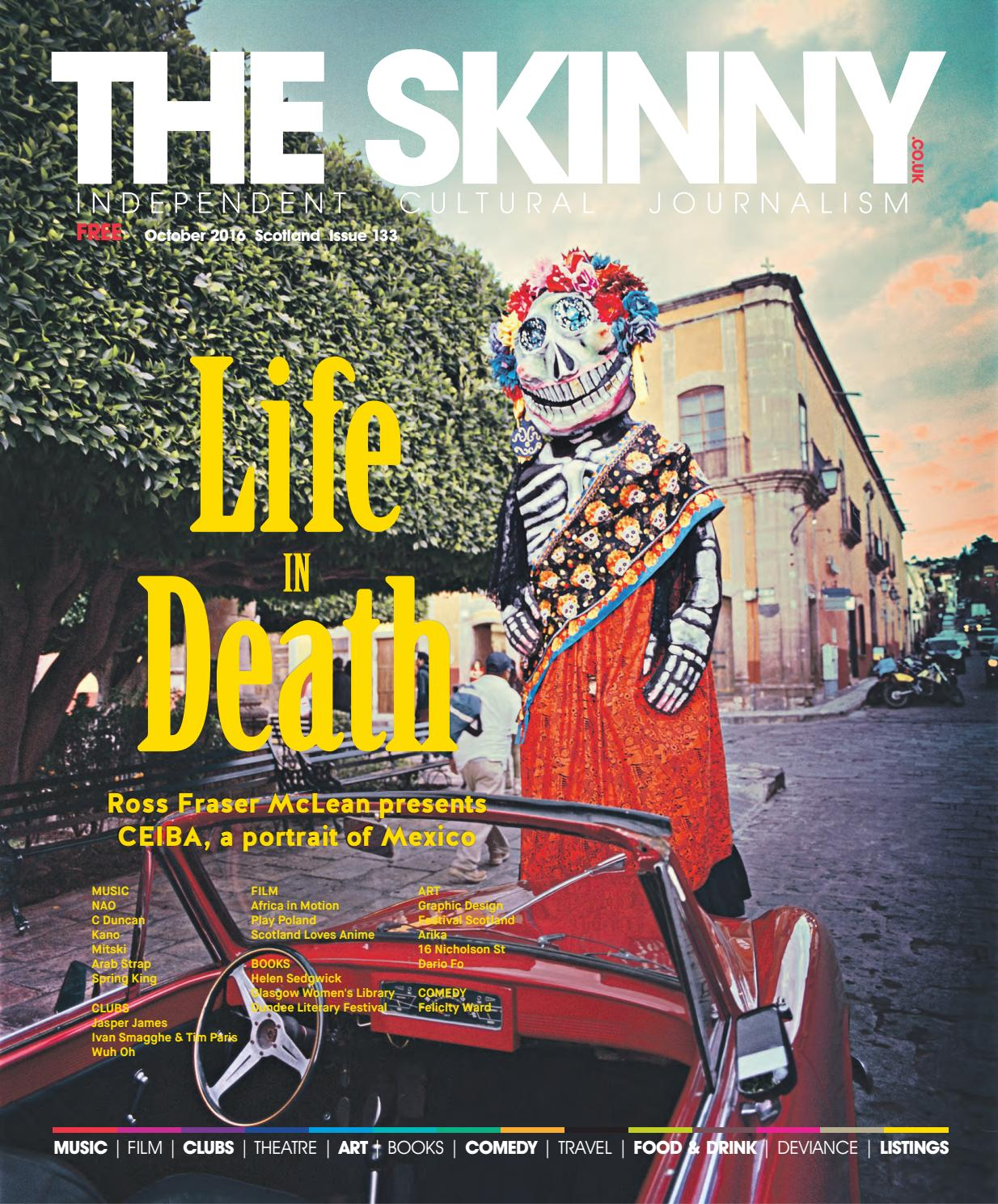 The Skinny Scotland October 2016 By The Skinny Issuu