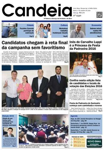cd734a1147 Jornal candeia 01 10 2016 by Jornal Candeia - issuu