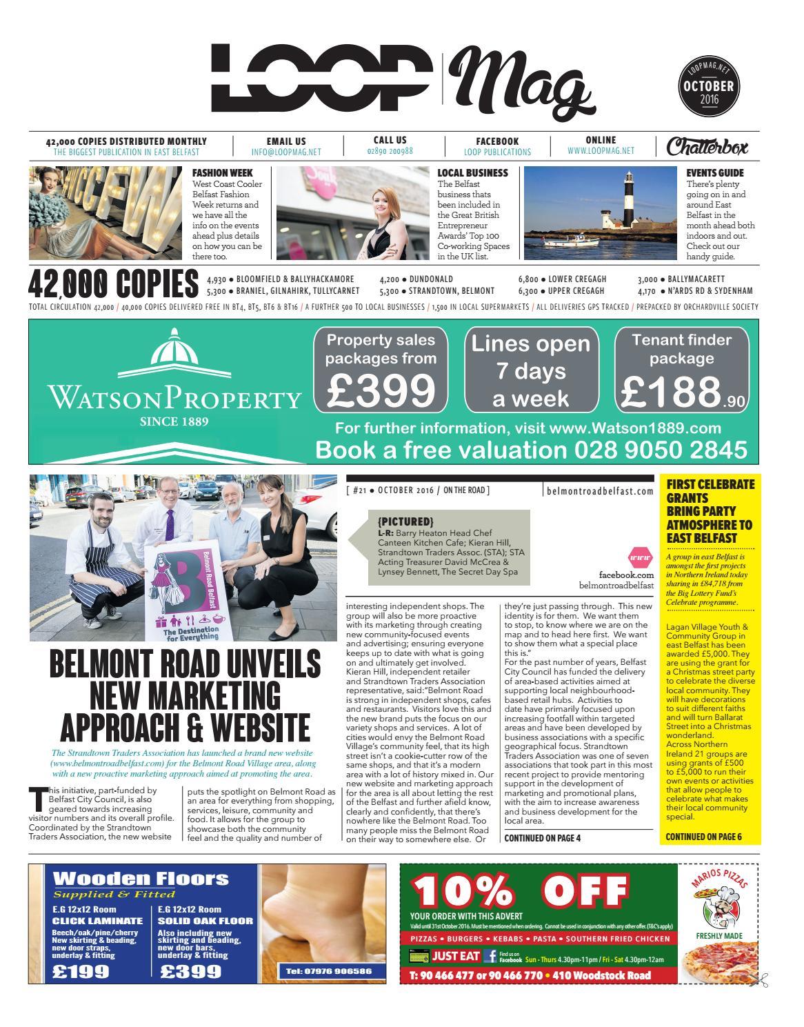 Loop Mag : East Belfast October 2016 by Loop Publications - issuu
