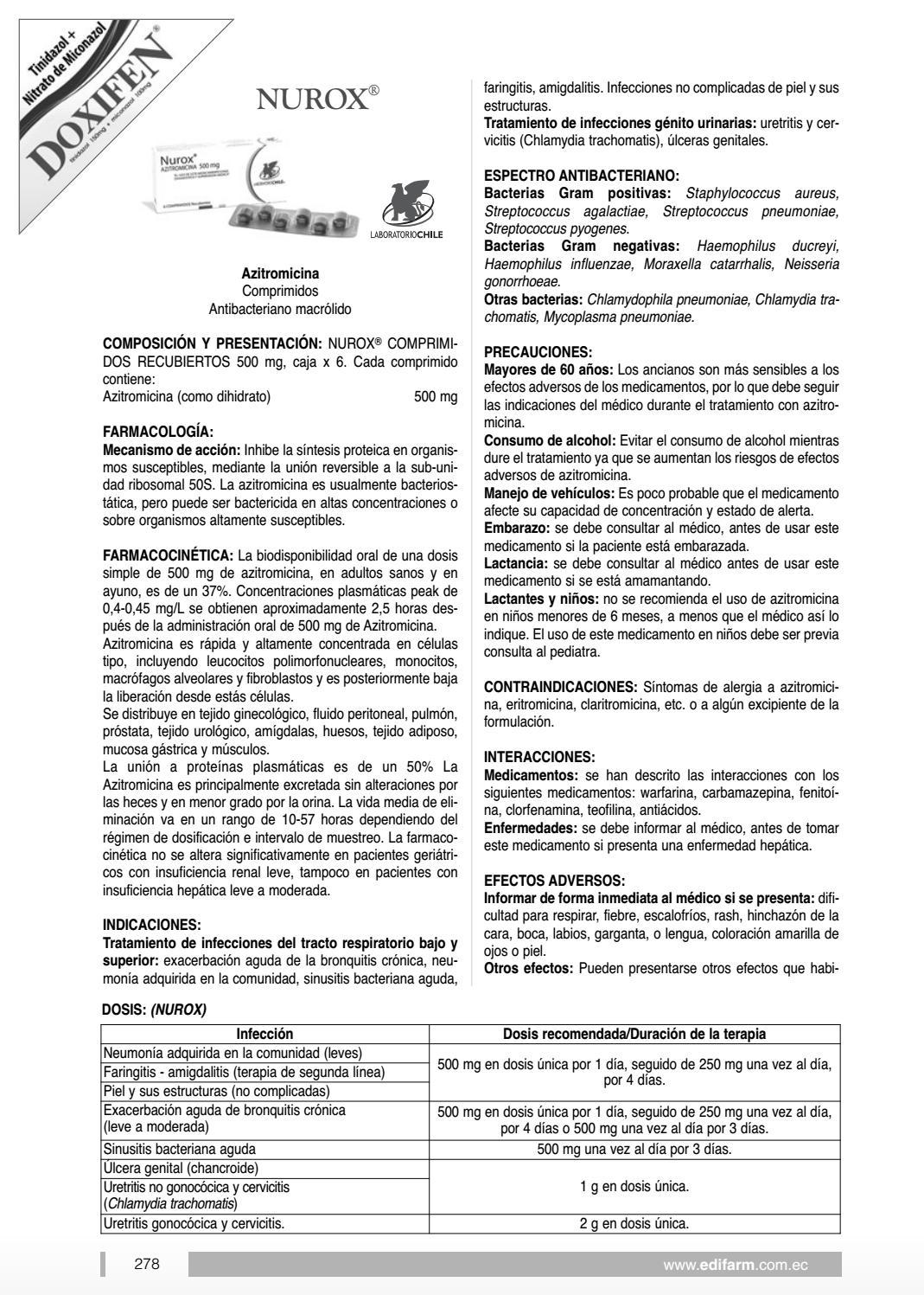 azitromicina uretritis gonococica