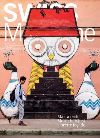 SWISS Magazine October 2016 - MARRAKECH by SWISS Magazine by SWISS ...