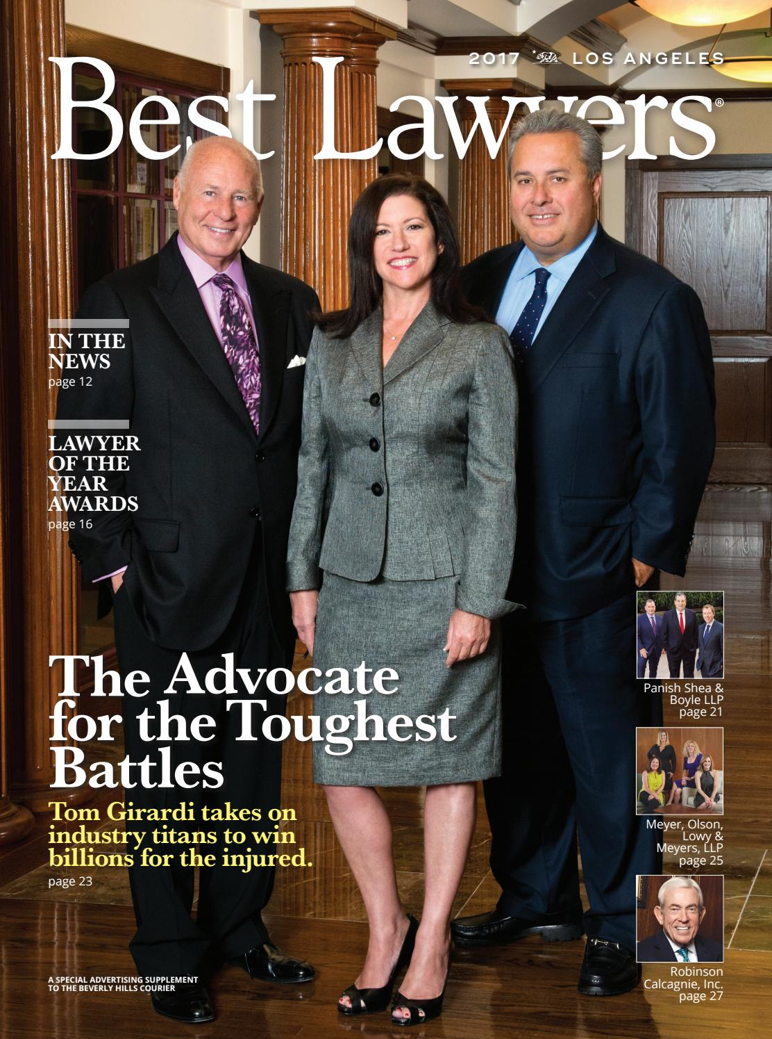 Best Lawyers In Greater Los Angeles 2017 By Best Lawyers Issuu