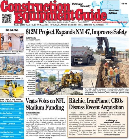 West 9 may 1 2017 by construction equipment guide issuu west 20 2016 fandeluxe Choice Image