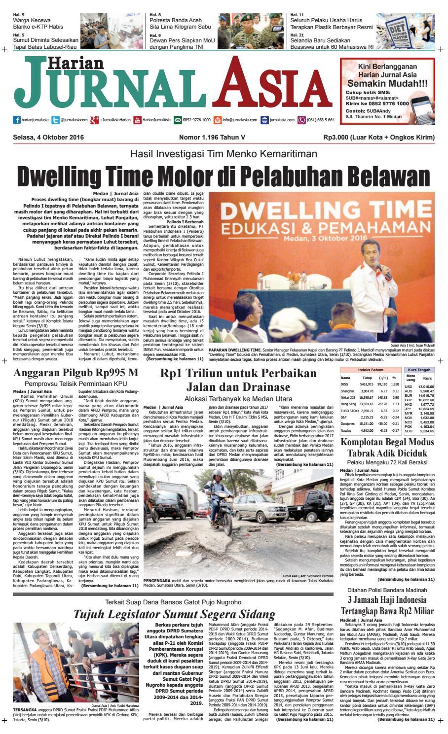 Harian Jurnal Asia Edisi Selasa ccd679144f