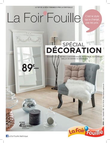 catalogue sp cial d coration by la foir 39 fouille issuu. Black Bedroom Furniture Sets. Home Design Ideas