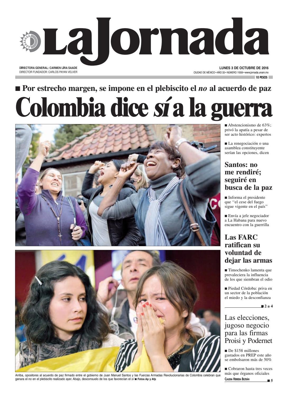 La Jornada, 10/03/2016 by La Jornada: DEMOS Desarrollo de Medios ...