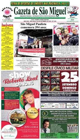 4127fee01 Gazeta de São Miguel edição1435 - 24.09.16 by São Paulo Leste - issuu