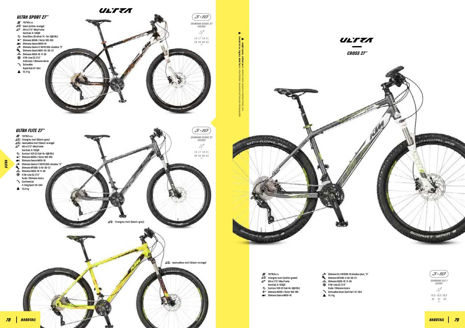 Catálogo KTM Bike 2017 by BTT Lobo - issuu