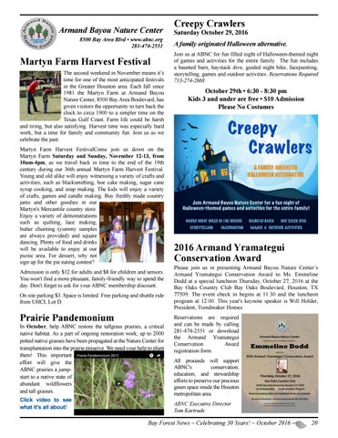 Bay Forest News, October 2016 by Bay Forest - issuu