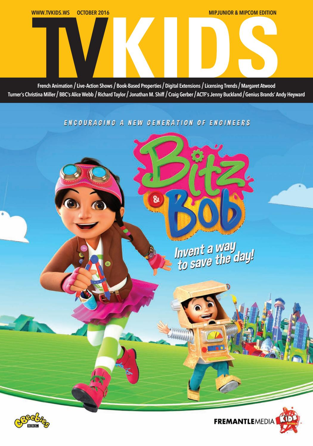 TV Kids MIPCOM 2016 by World Screen - issuu