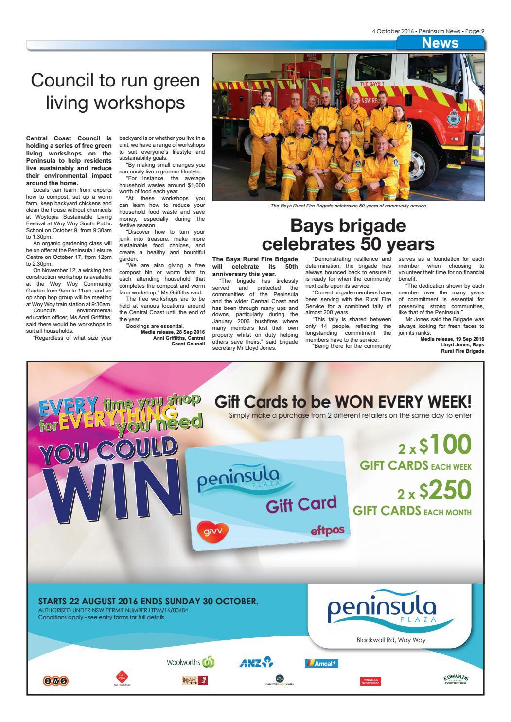 Peninsula News 403 by Mark Snell - issuu