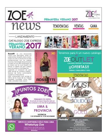 3566d8d0cfb News by Catálogos Zoe Express - issuu