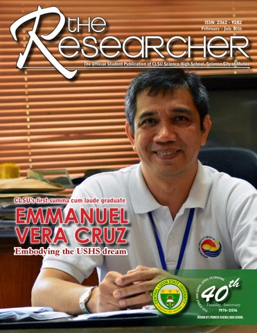 Th Magazine Issue The Researcher By Emil Ubaldo Issuu - Emil de leon solve impossible puzzle