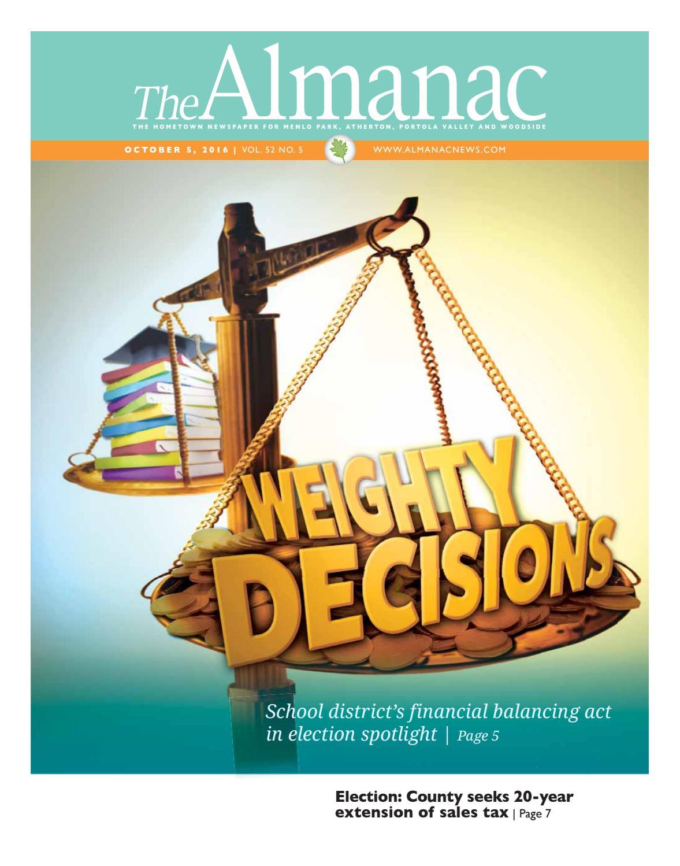 The Almanac October 5, 2016 by The Almanac - issuu