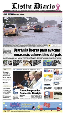 LD 04102016 by Listín Diario - issuu c5ea6b21927