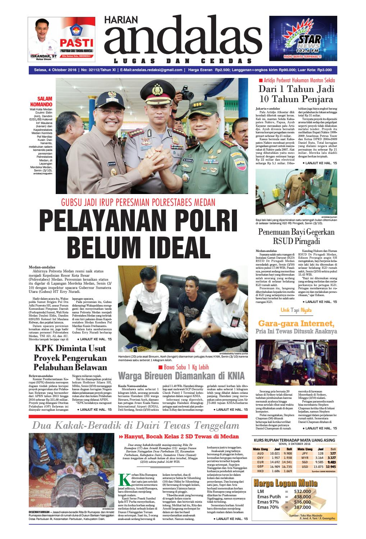Epaper andalas edisi selasa 04 oktober 2016 by media andalas - issuu de819b4b8f