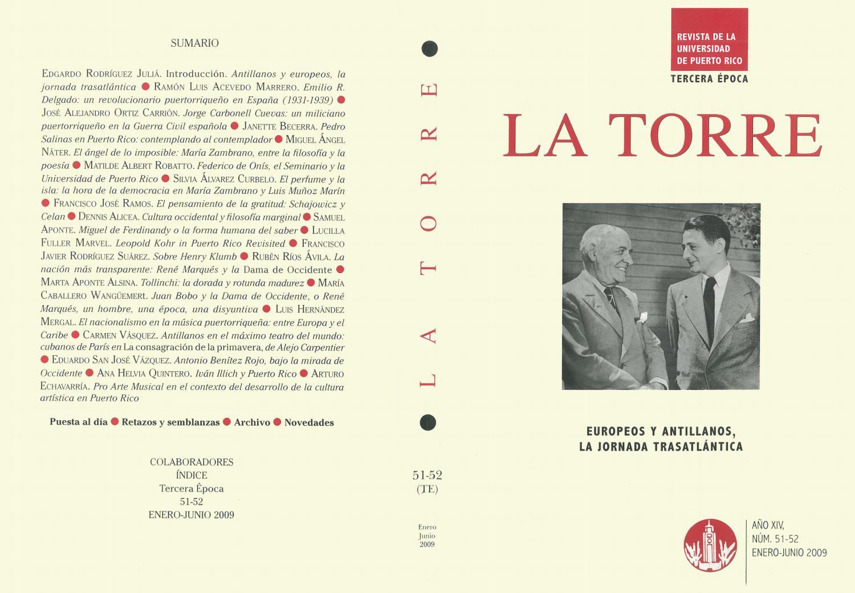 a1a3f40da8fc La Torre 2009 enero-junio (Europeos y Antillanos