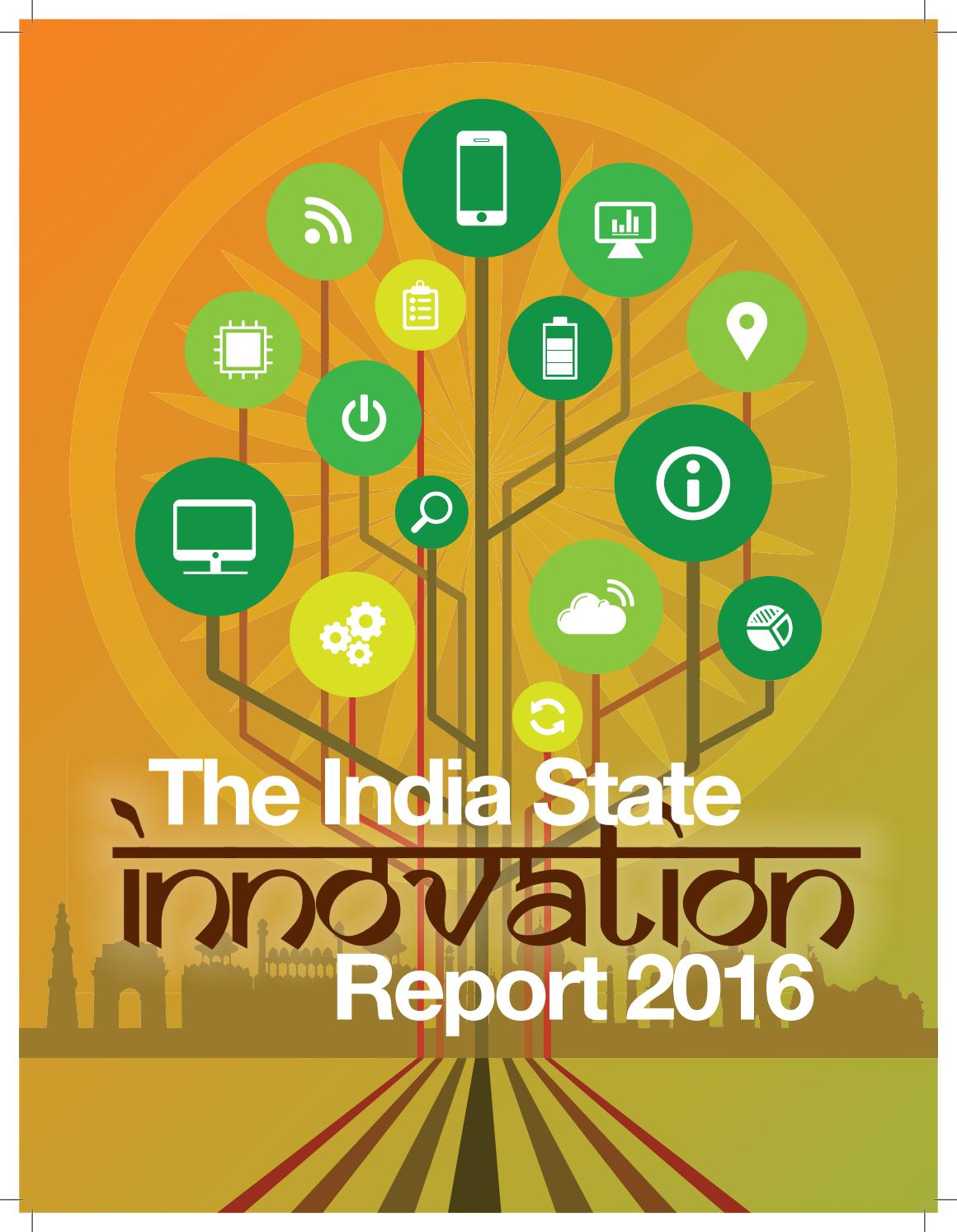 The India State Innovation Report 2016 by Institute for Competitiveness -  issuu
