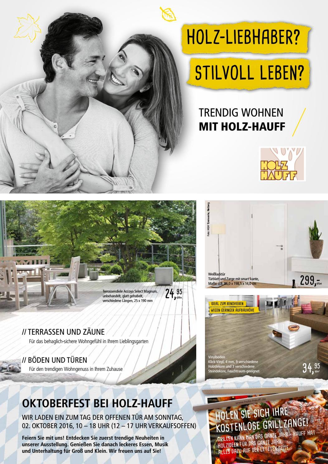 Holz Hauff Herbstbeilage 2016 By Opus Marketing GmbH   Issuu