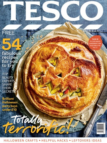 Tesco magazine – October 2016 by Tesco magazine - issuu