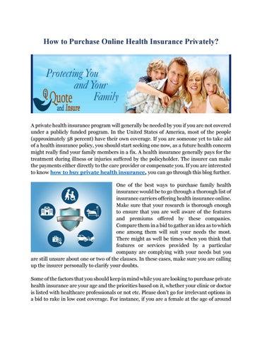 family health insurance companies