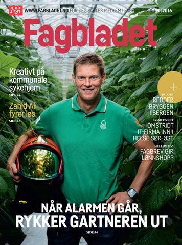 893188ec Fagbladet 2016 08 by Fagbladet - issuu