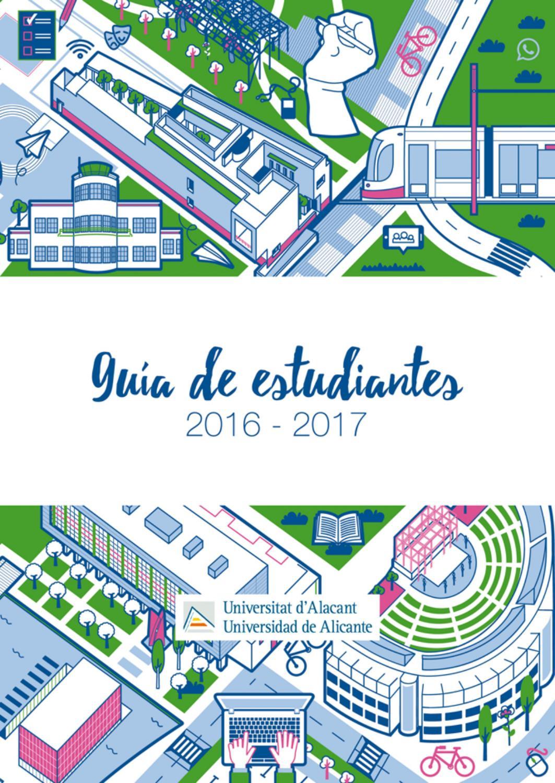 guía estudiantes universidad de alicante by Oficina de Información ...